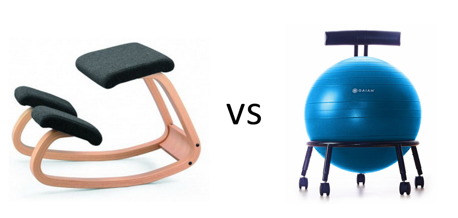 kneeling chair vs yoga ball - which ergonomic solution is right