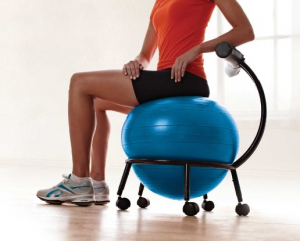 Review Gaiam Custom Fit Adjustable Balance Ball Chair