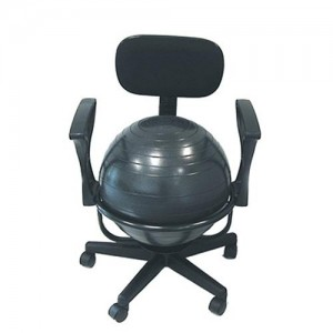 Review Cando Yoga Ball Chair Modeets C