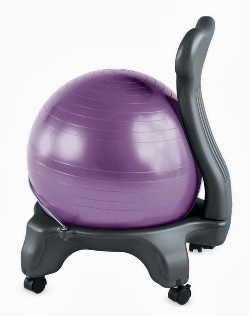 Review Gaiam Balance Ball Chair Modeets 169